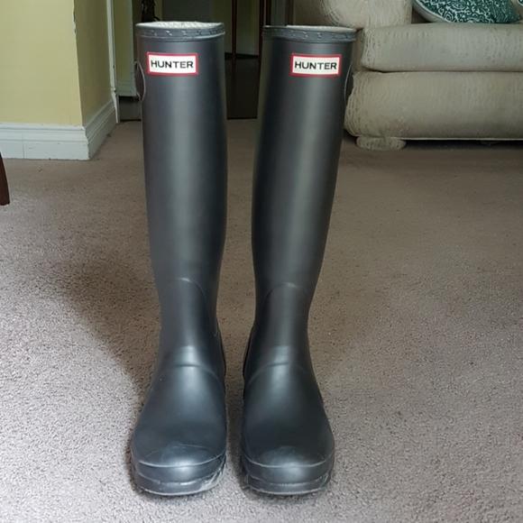 Hunter Original Tall Rain boots